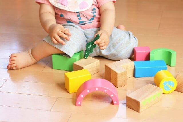 積み木の遊び方の変化