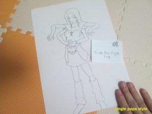 リンの描いた絵2
