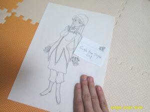 リンの描いた絵1