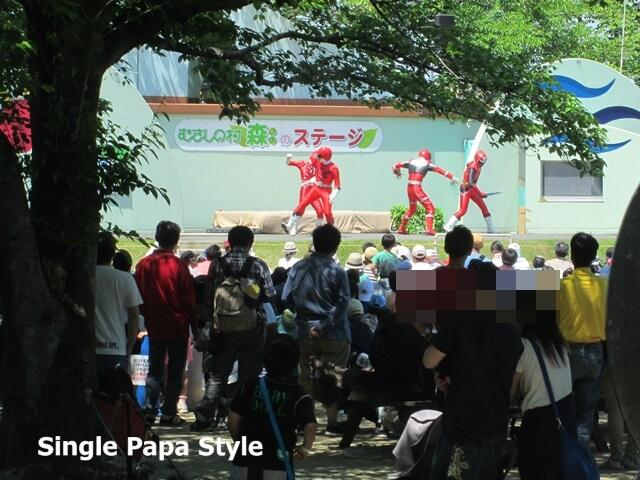 むさしの村キャラクターショー