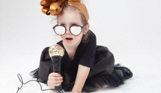 不思議な踊りと歌の上達~娘の成長記録(3歳10か月)