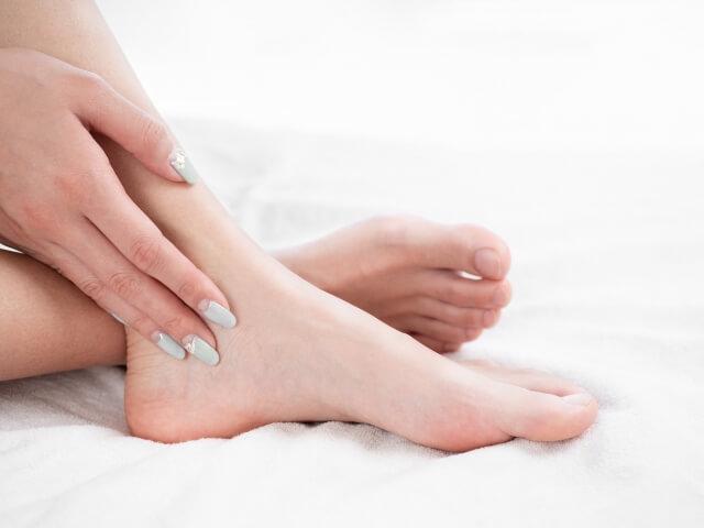 きれいな足イメージ